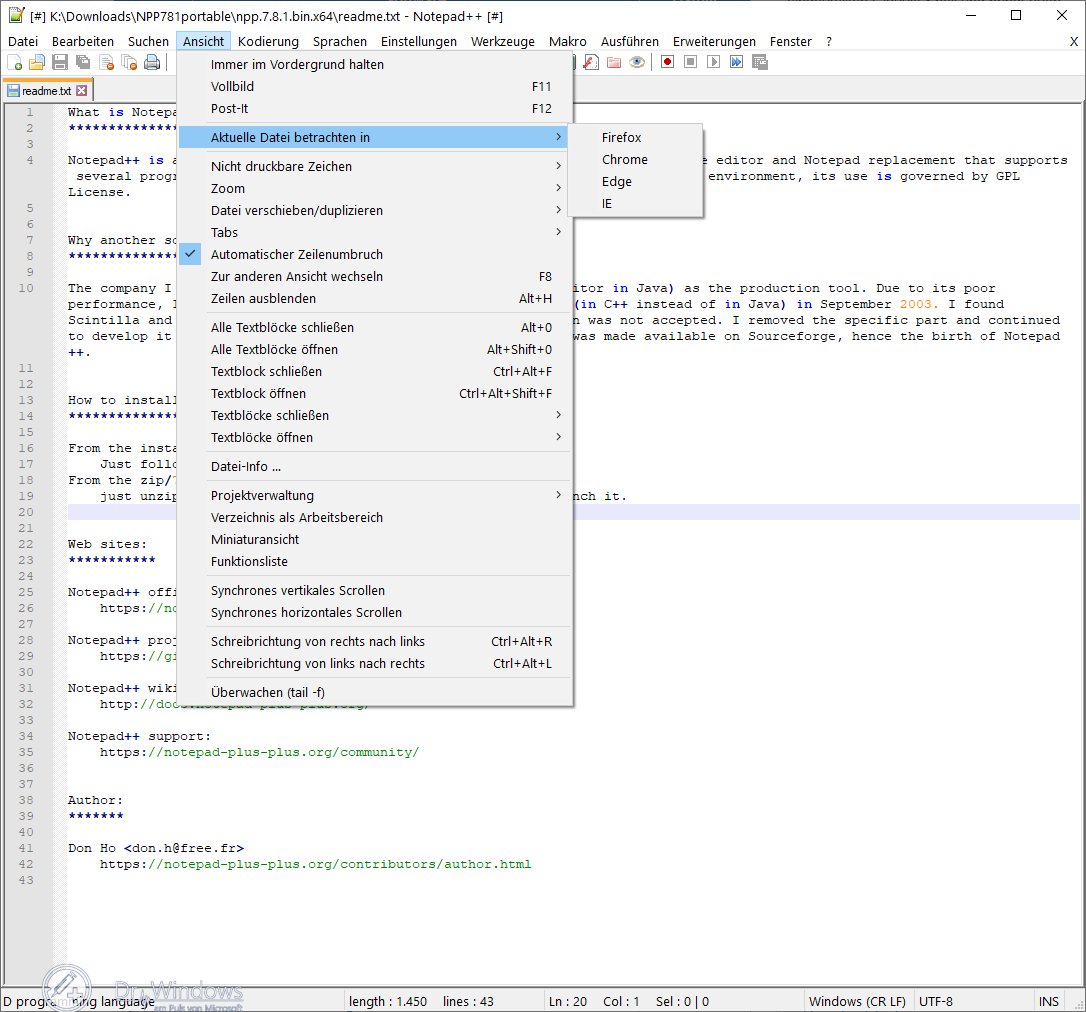 Open Source Text Editor