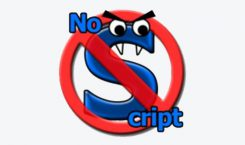 NoScript - Firefox JavaScript und Java Management
