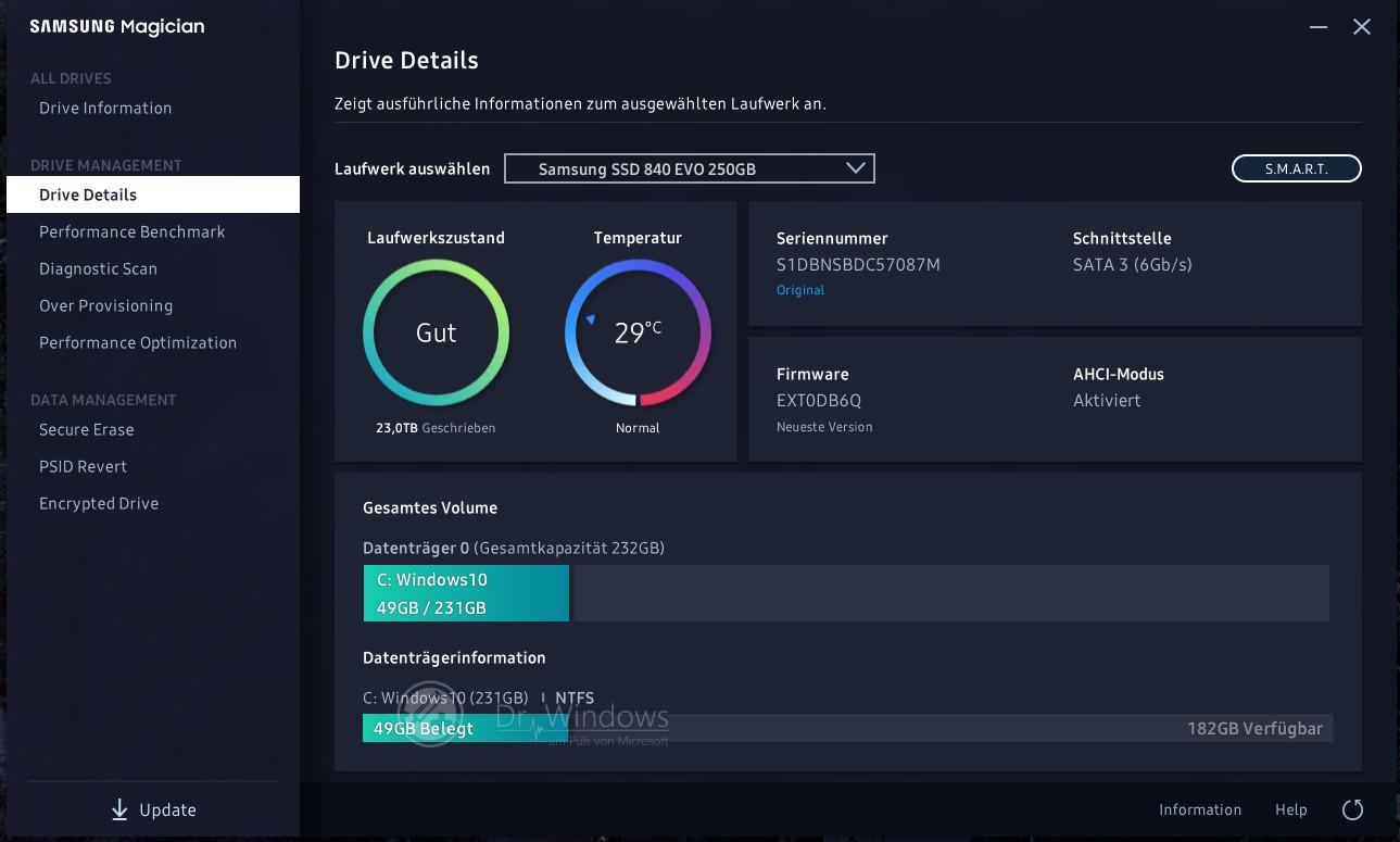 samsung magician 5.2 firmware update