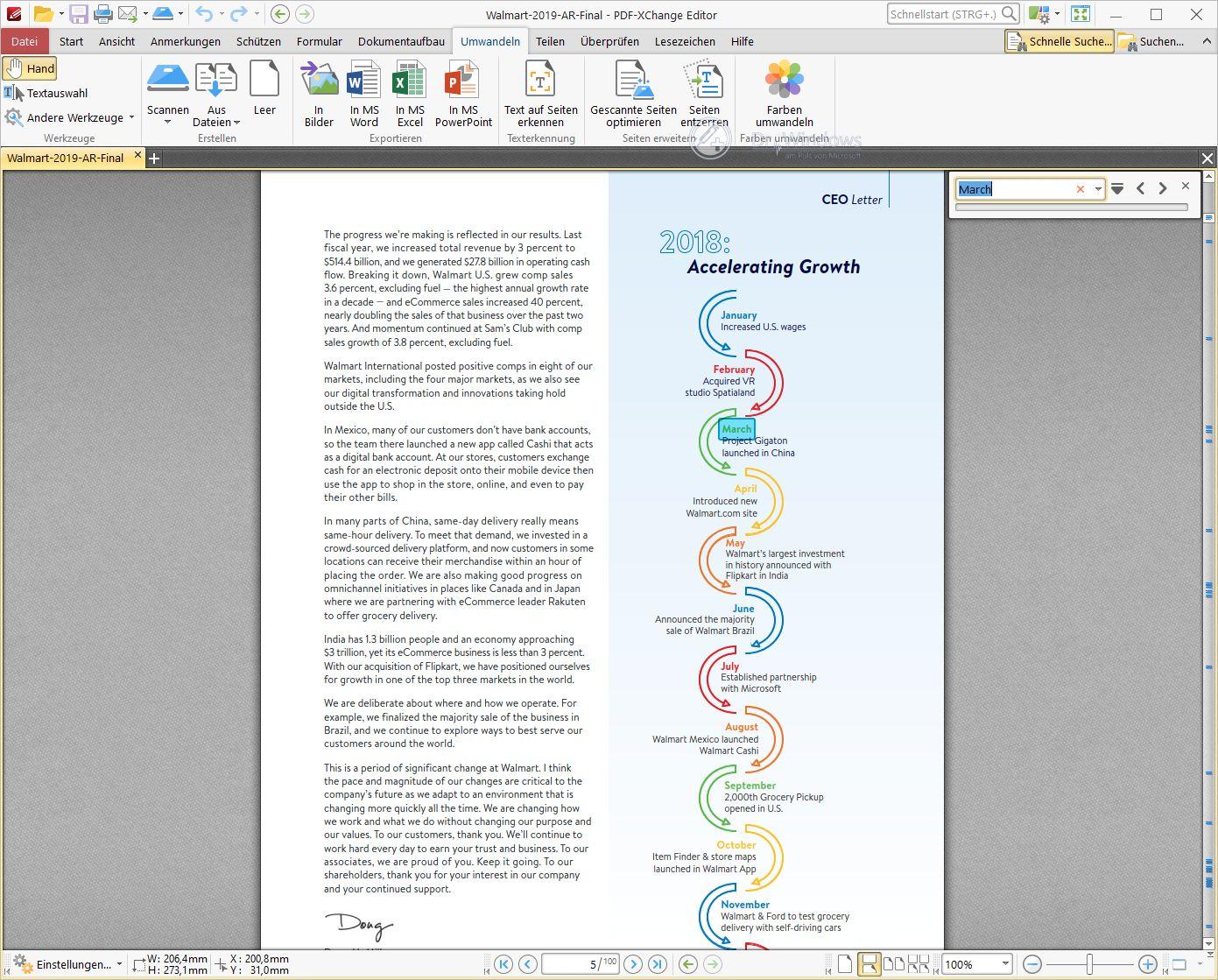pdf-xchange editor - pdf editor und viewer › dr. windows