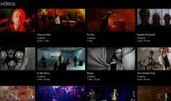 Groove Music zeigt jetzt alle Musikvideos von Künstlern an