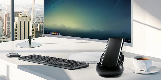 Arbeiten mit Samsung DeX - der zweite Kontakt