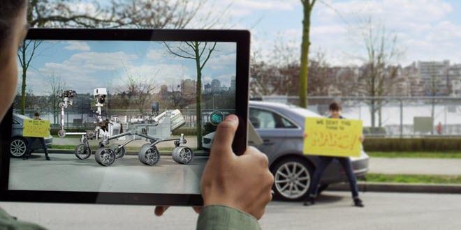 View 3D in Windows 10 unterstützt Mixed Reality
