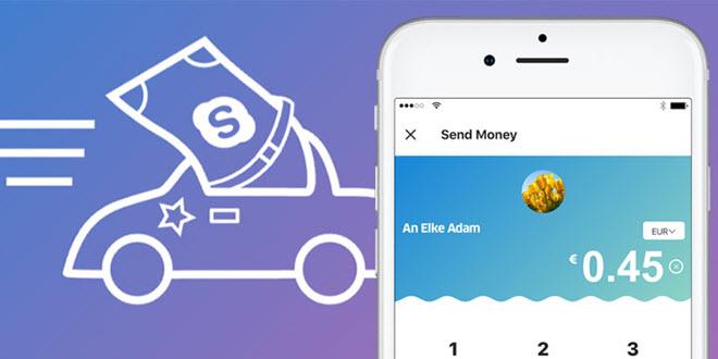 PayPal integriert sich in die Skype App