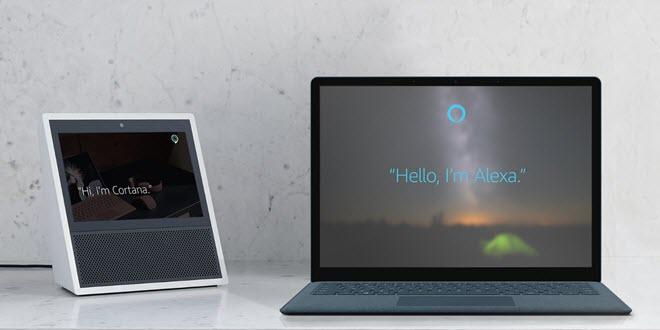Cortana hat fertig - Alexa, bitte übernehmen sie