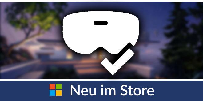 Neu im Store: Windows Mixed Reality PC Check