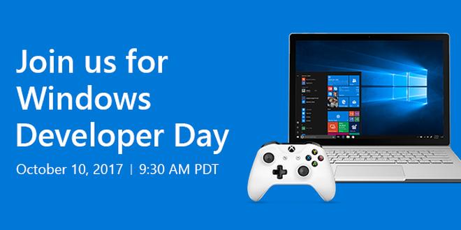 Hinweis: Windows Developer Day zum Fall Creators Update am 10. Oktober
