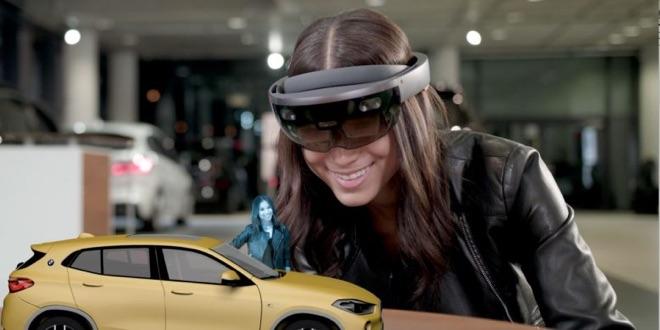 BMW startet neue X2-Kampange mit Microsoft HoloLens