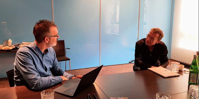 Chefdesigner Ralf Groene im Gespräch über Surface Book 2, Laptop und demokratisches Produktdesign