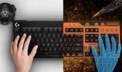 HTC und Logitech entwickeln VR-taugliche Tastatur