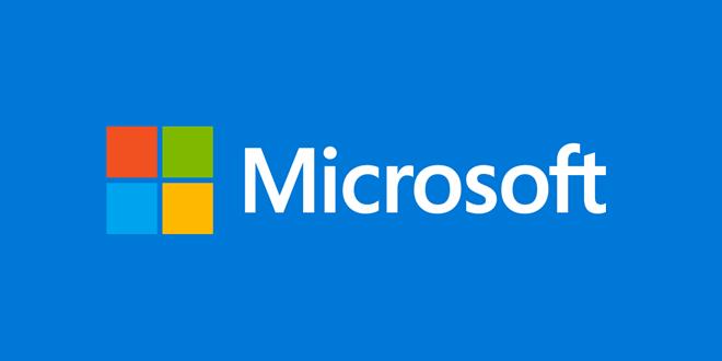 Microsoft Firmenlogo
