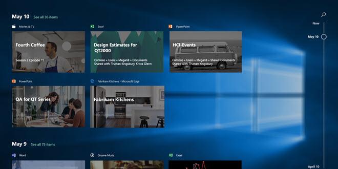 Windows 10 Timeline: Synchronisation über Microsoft-Konten wird im Juli abgeschaltet
