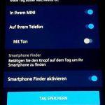 Ansicht der Findmates in MINI Connected-App