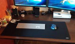 Auslegeware für den Schreibtisch: Aukey Mauspad XL