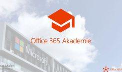 Office 365 Akademie - die News-Übersicht Mai 2019