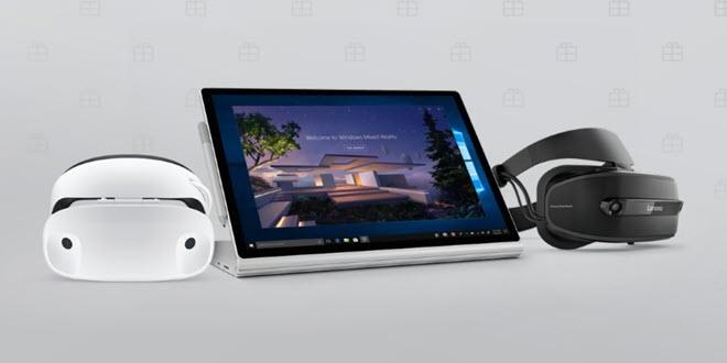Surface Book 2 und Mixed Reality Headset: Im Bundle 400 Euro günstiger