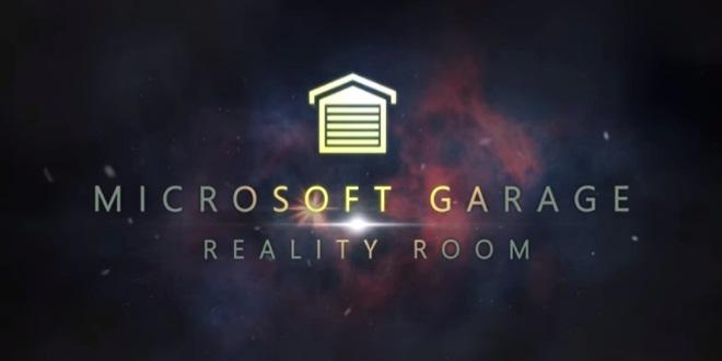 Microsoft Garage Reality Room - Leben und Arbeiten in künstlichen Welten