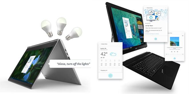 Alexa für PCs und Smartphones