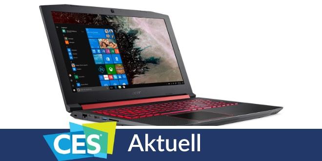 CES 2018: Schlankheitskur für das Acer-Notebook Swift 7