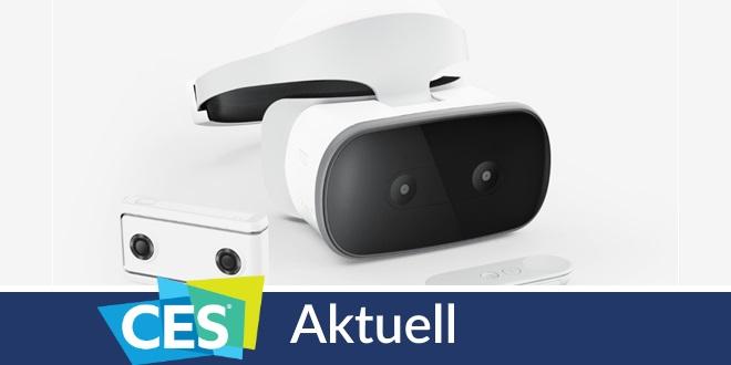 Lenovo: Mirage-Kamera und -Headset für kabellosen VR-Genuss
