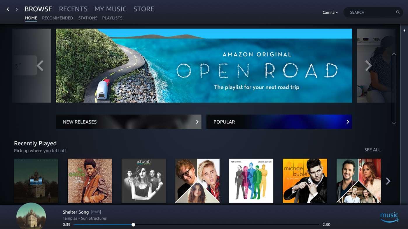Amazon Music im Microsoft Store