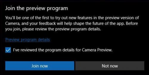 Neu App Preview Programm für Windows 10 Apps