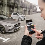 Privates Car Sharing bei Mercedes