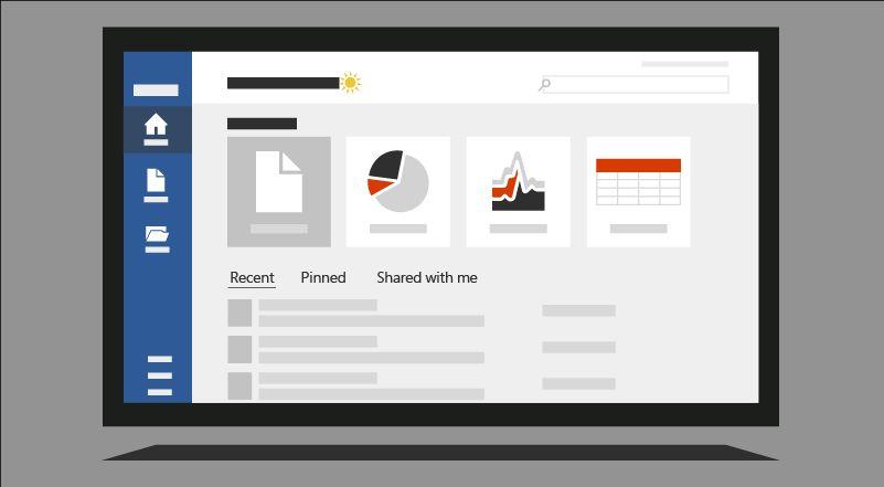 Microsoft Office: Startseite aller Applikationen wird modernisiert ...