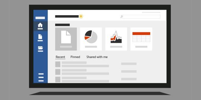 Microsoft Office: Startseite aller Applikationen wird modernisiert