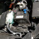 Motorraum des Hyundai Ioniq EV.
