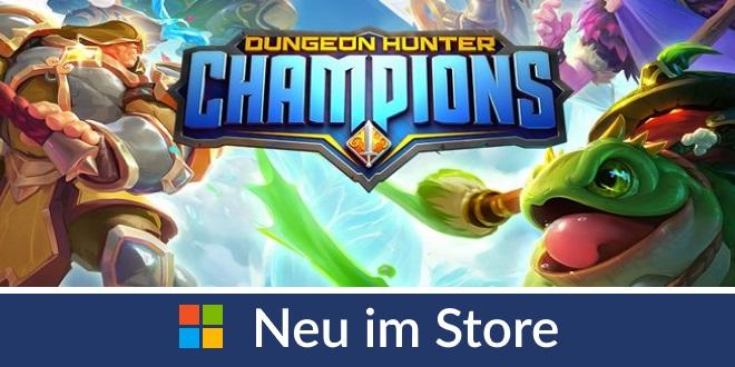 Neu im Store: Dungeon Hunter Champion für Windows PC, iOS und Android