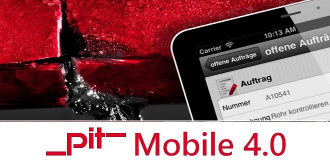 Pit Mobile 4.0 - Unterstützende App für das Facility Management