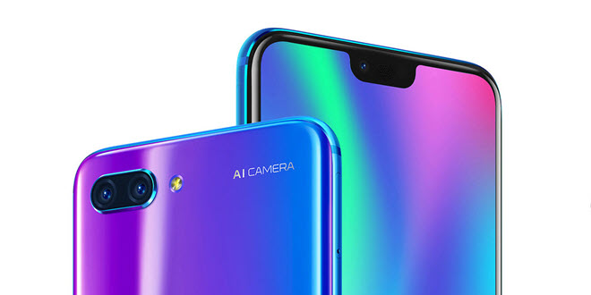 Honor 10 in Unboxing- und ersten Hands-On-Videos