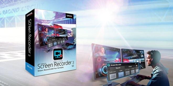 Zur gamescom: Cyberlink verschenkt Screen Recorder 3 SE