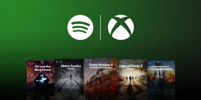 Offizielle Spotify-Playlisten des Xbox-Teams zu diversen Spielen