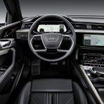 Interieur des Audi e-tron quattro.
