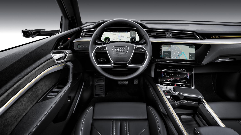 Interior im Audi e-tron quattro. › Dr. Windows