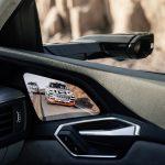 7-Zoll-OLED-Bildschirm der virtuellen Aussenspiegel im Audi e-tron quattro.