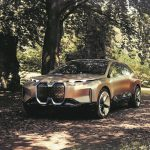 BMW Vision iNext in natura.