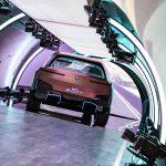 Heckansicht des BMW Vision iNext.