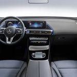 Innenraum des Mercedes-Benz EQC.