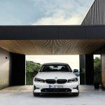 Frontansicht des neuen BMW 3er (G20) (Foto: BMW).