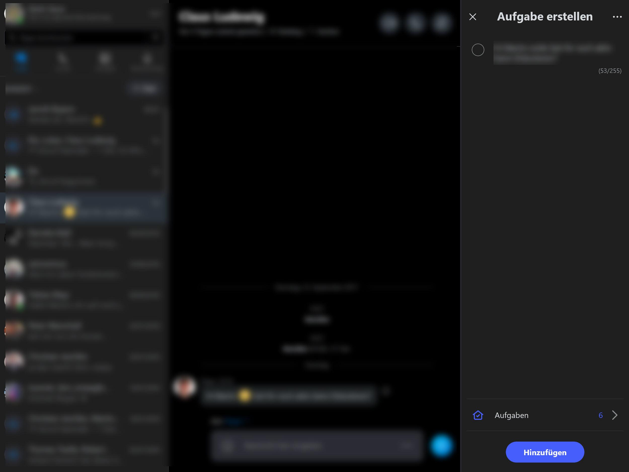 Skype und To-Do arbeiten zusammen