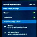 Info-Bildschirm in der MINI Connected-Smartphone-App.
