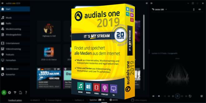 Audials One 2019 im Test: Fast schon verboten gut
