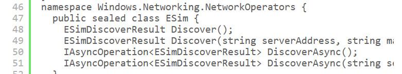 verbesserter eSIM-Support für Windows 10