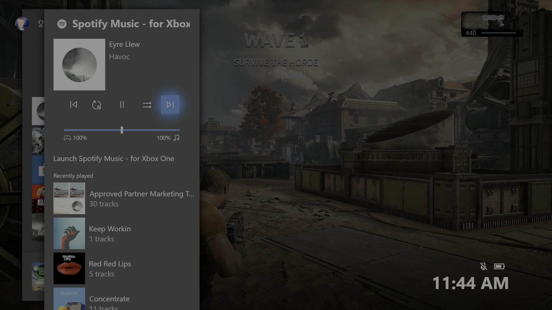 Die neue Spotify App für die Xbox One