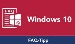 """Windows 10 FAQ: Windows Explorer mit der Ansicht """"Dieser PC"""" statt Schnellzugriff starten"""
