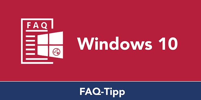 Basic-FAQ: Windows 10 Bildschirmschoner einstellen und ändern