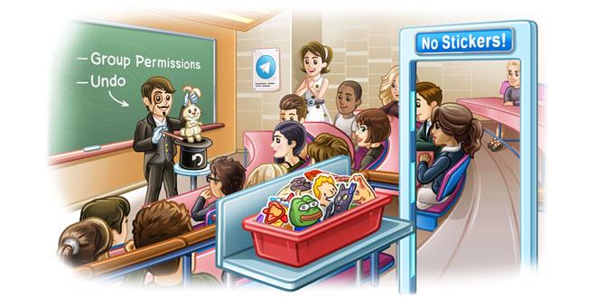 Messenger Telegram mit neuen Gruppen-Funktionen